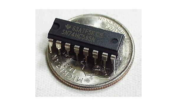 74HC595 -Shift Register 8-Bit