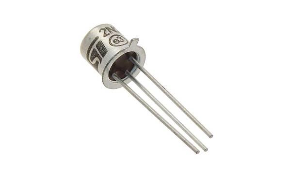 2N2222A NPN (Metal Kýlýf) Transistör