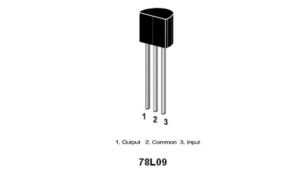 78L09 9V-100mA Poziitif Voltaj Regülatör