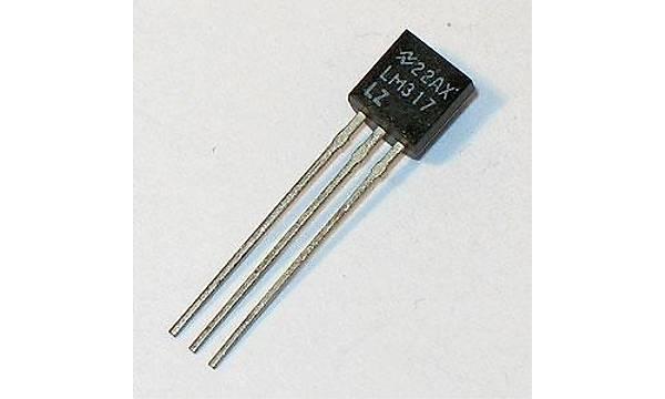 LM317LZ 1.2/37V Ayarlanabilir -100mA Voltaj Regülatör