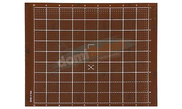 180x150mm Delikli Pertinaks