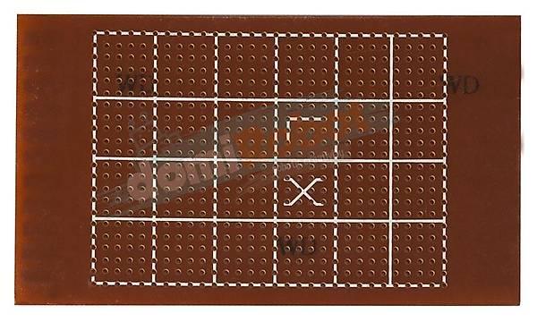 105x62mm Delikli Pertinaks