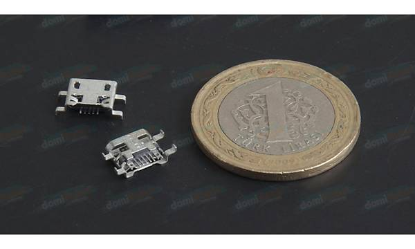 Micro Usb Type-B 5 Pin - D022