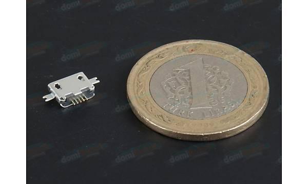 Micro Usb Type-B 5 Pin - D027