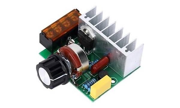 4000W 220V AC SCR Voltaj Regülatörü (Metal Kasasýz)