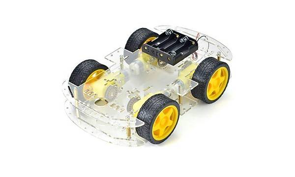 4WD Çok Amaçlý Mobil Robot Platformu Kiti