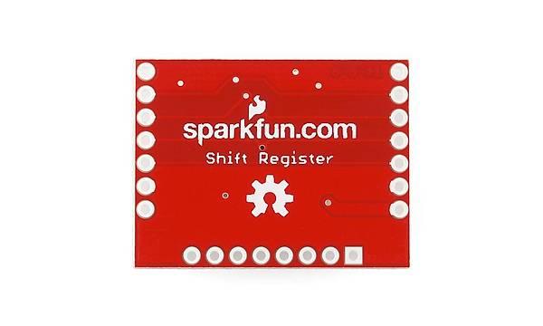 74HC595 - SparkFun Shift Register Breakout
