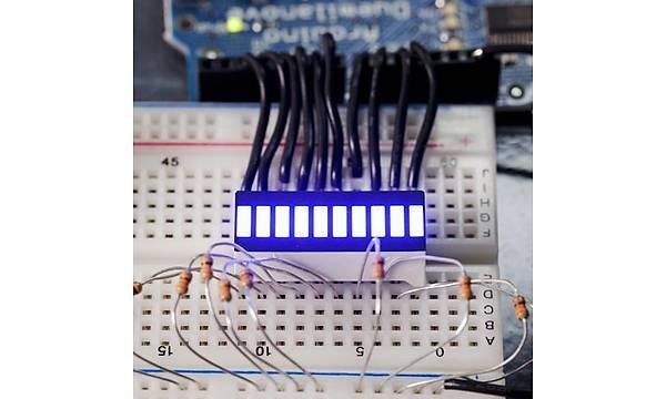 SparkFun 10 Segment LED Bar Graph - Mavi