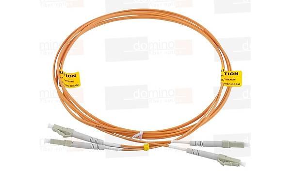 LC-LC MM 62,5/125 Duplex F/O Patchcord L:1m