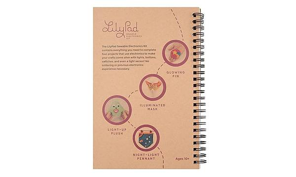 LilyPad Sewable Electronics Kit Guidebook