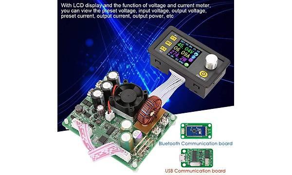 DPS5015-USB-BT 0-50V 15A Programlanabilir Güç Kaynaðý Modülü USB + Bluetooth