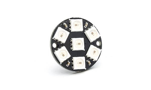 7 LED'li WS2812 5050 RGB LED Module
