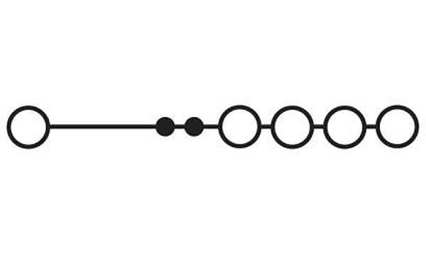 Ortak potansiyelli klemens - STU 10/ 4X2,5
