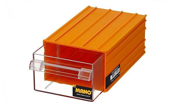 Mano K-40 Plastik Çekmeceli Kutu