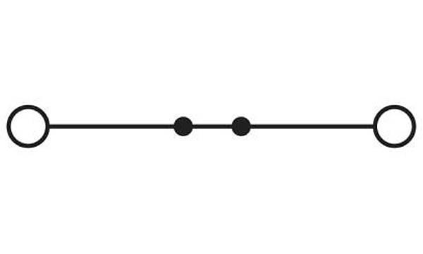 Geçiþ klemensi - PT 2,5 RD