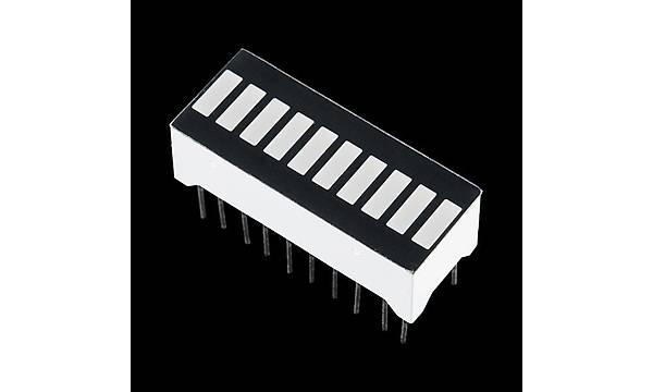 SparkFun 10 Segment LED Bar Graph - Sarý