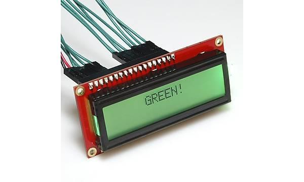 16x2 Character LCD - RGB Backlight 5V