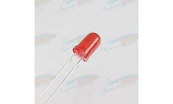 5mm Kýrmýzý LED (10adet)