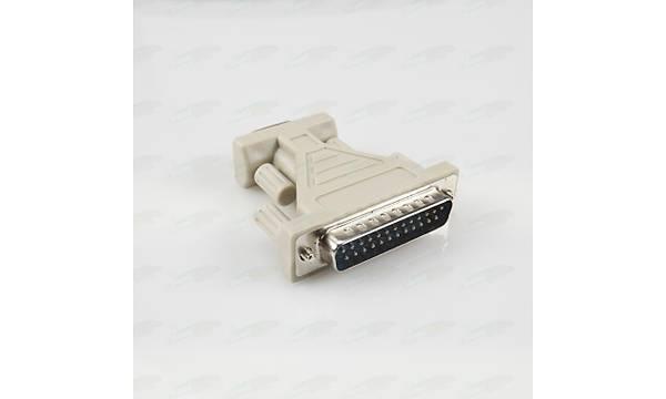 RS232 Serial Paralel Adaptör - 9pin to 25pin Erkek