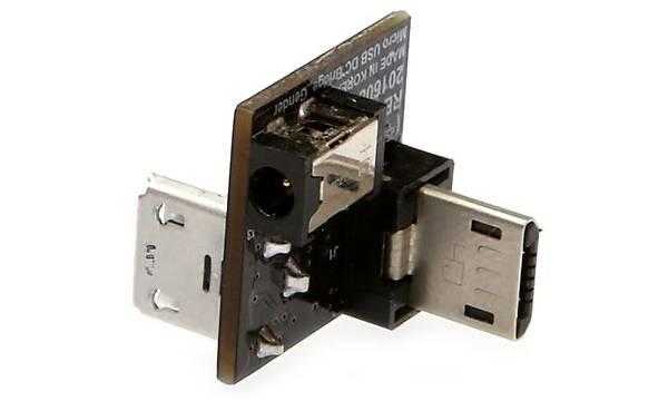 Micro USB-DC Power Bridge Board