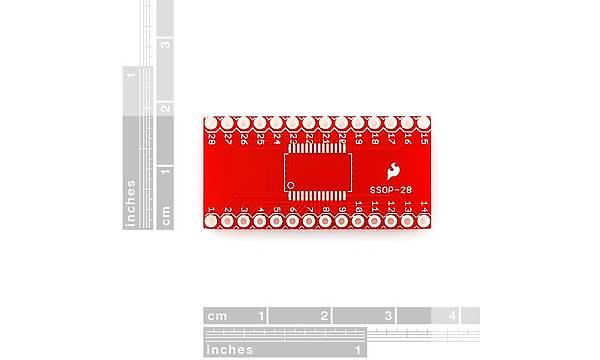 SparkFun SSOP to DIP Adapter - 28-Pin