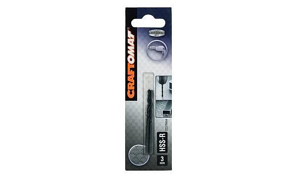 Craftomat HSS-R 2 Adet Metal Matkap Ucu 3 mm
