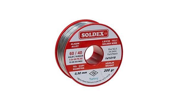 0.50mm 200 gr Soldex Lehim Teli