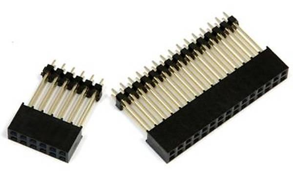 30pin and 12pin Header Sockets