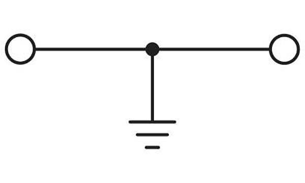 Modüler topraklama klemensi - USLKG 3