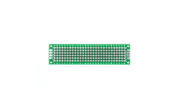 2x8cm Çift Yüzlü Delikli Pertinaks