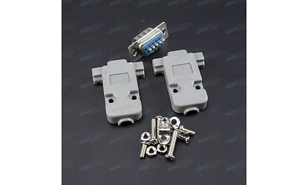 Rs232 Erkek 9 Pin Soket Takýmý Db9