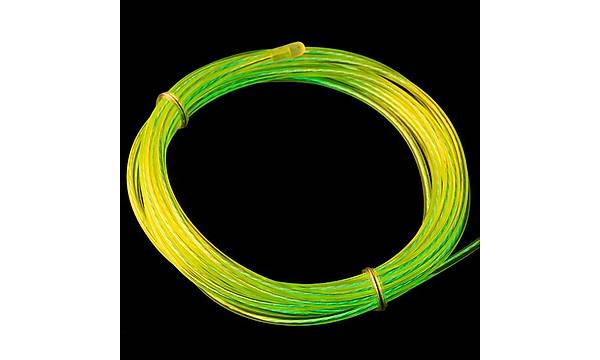 EL Wire - Floresan Sarý Yeþil (3m) (Chasing)