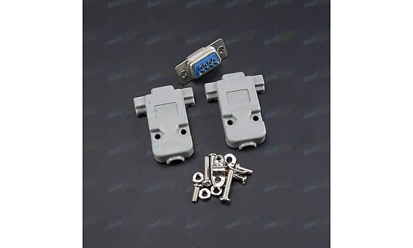 Rs232 Diþi 9 Pin Soket Takýmý Db9