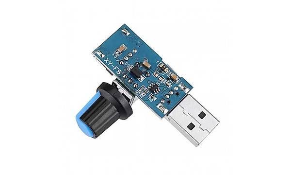 USB Fan Hýz Kontrol Modülü 5V