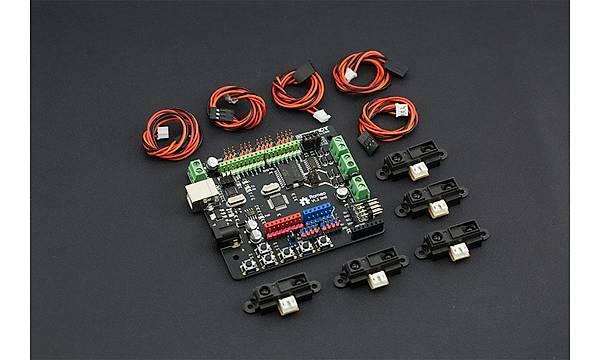 DFRobot HCR - Mobil Robot Platform (Sensör ve Mikrodenetleyici Dahil)
