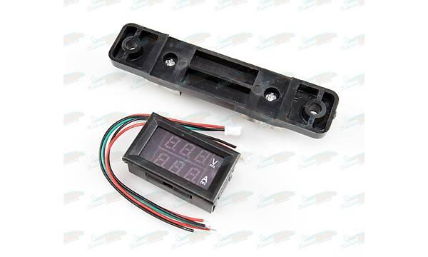 Dijital Voltmetre ve Ampermetre (100V-50A) 2Renk