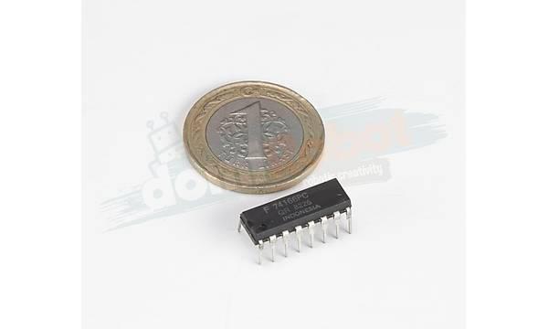 74166 8-Bit Parallel-Load Shift Register