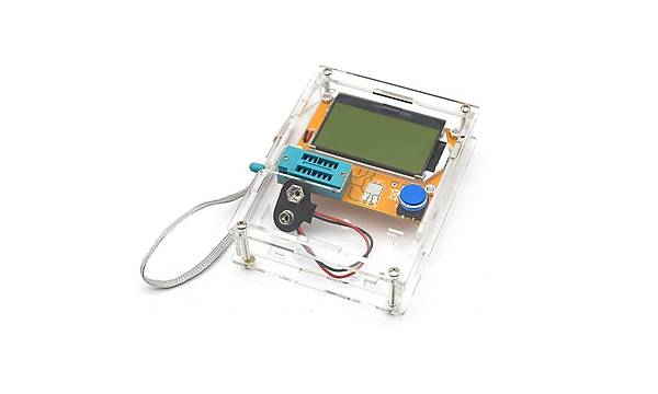 LCR-T4 Elektronik Komponent Test Cihazý (Muhafaza Kutulu)