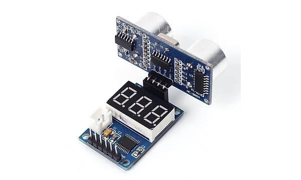 HC-SR04 Ultrasonik Sensör Ölçüm Modülü