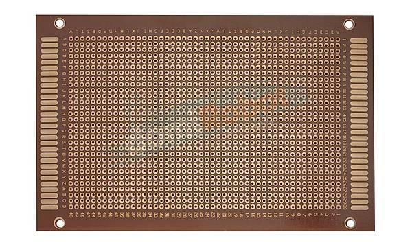 160x120mm Delikli Pertinaks