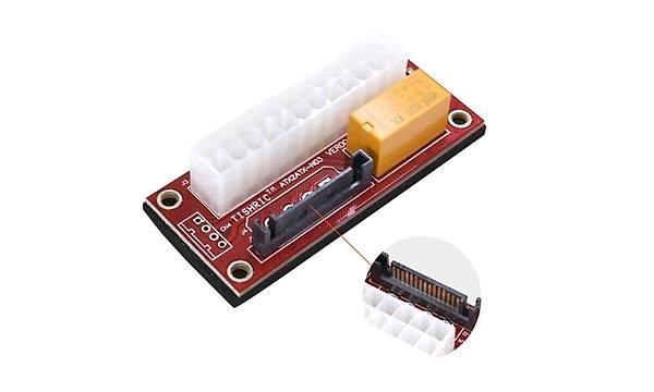 Add2PSU ATX - SATA Molex 24 Pin Güç Kaynaðý Baðlantý Adaptörü