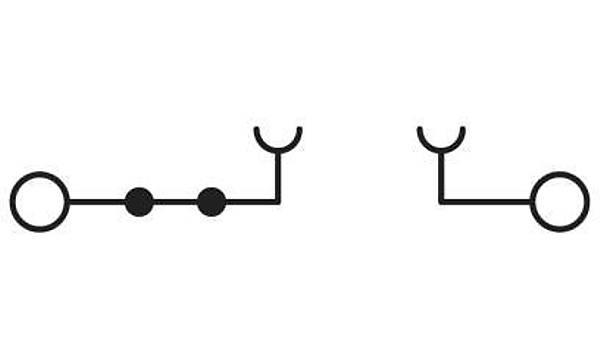 Ayýrmalý klemens - PT 2,5-TG