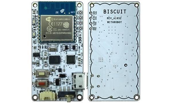 Biscuit - Programlanabilir Wi-Fi 9 Eksen Mutlak Dönüþ Sensörü