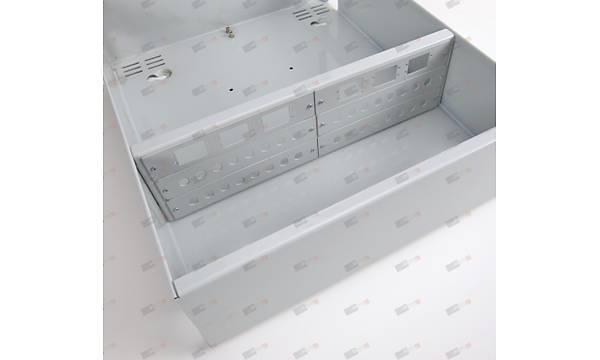 Duvar tipi Terminasyon Kutusu 72port - Metal - Sabit Yuvalý