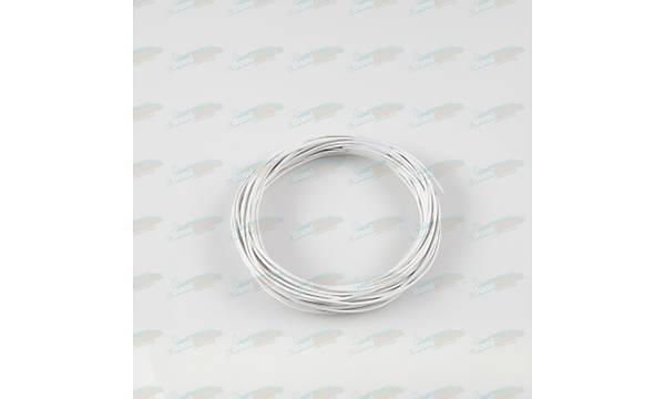 Çok Damarlý Renkli Montaj Kablosu 0.22mm Beyaz L:10m