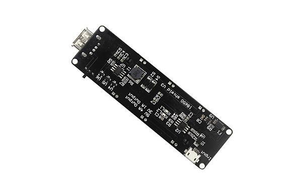Arduino ve WEMOS ESP32 için Mikro USB'li Lityum Batarya Þarj Shield