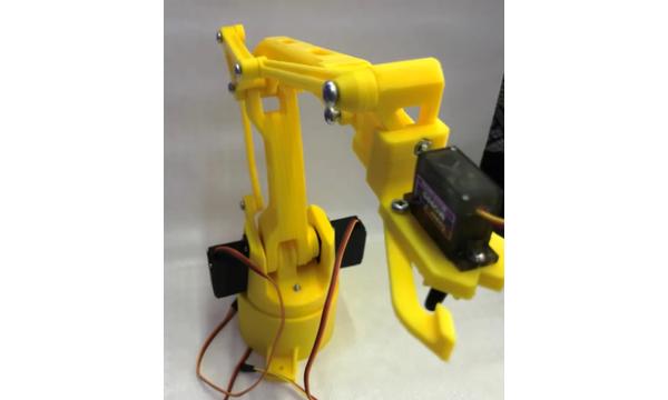 Arduino Uyumlu Robot Kol (Çeþitli Renkler)