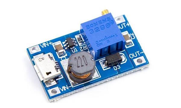 MT3608 Micro USB Ayarlanabilir Boost Modül