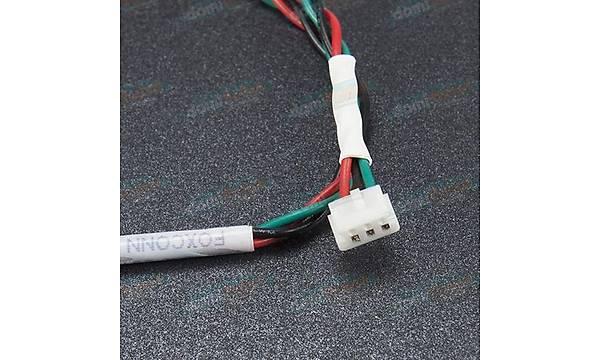 3 Pin Diþi-Diþi Foxconn FW03034-K1 L:30cm