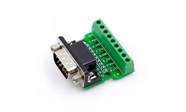 RS232 RS485 Dönüþtürücü Modülü (DB9 Erkek)